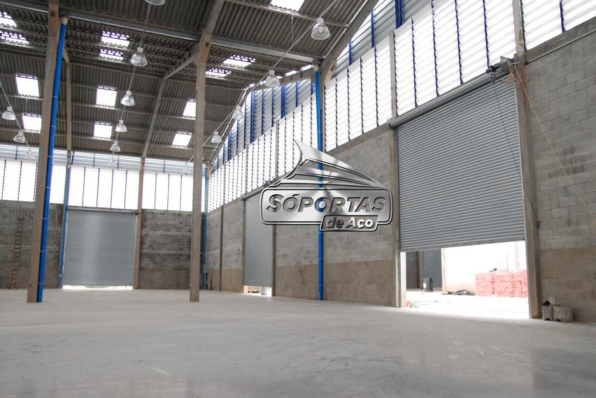 Fabrica de portas de enrolar automáticas em Diadema