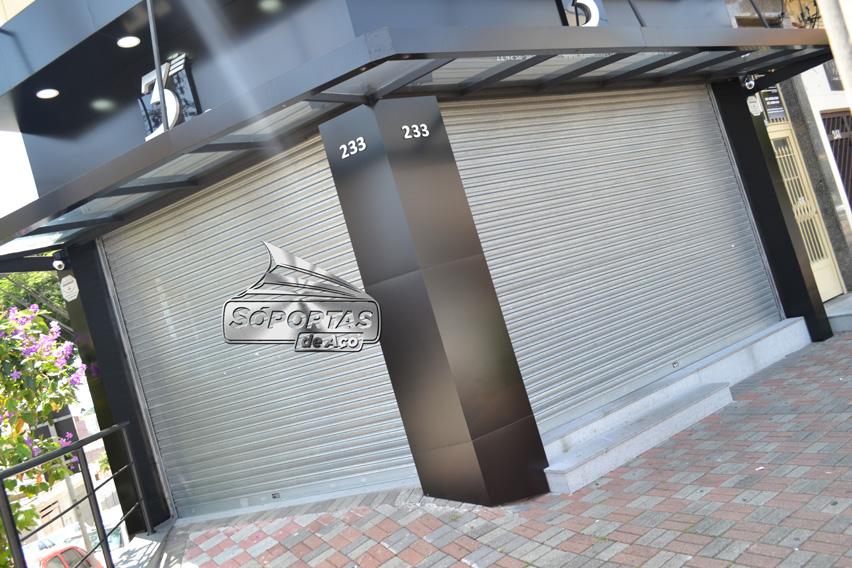 Portão de enrolar em Santo André